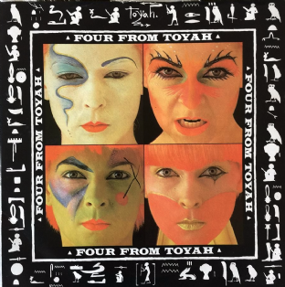 "Toyah ‎- Four From Toyah EP (7"") (EX/VG)"